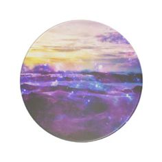 A Beach compact mirror from Zazzle! Vanilla Twilight, Sandstone Coasters, Compact Mirror, Drink Coasters, Makeup Tools, Ornaments, Metal, Artwork, Painting