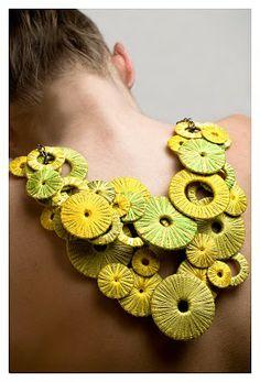 Mercedes Mendez fabric jewelry bespoke cre8tivity