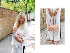 Bílý outfit sluší všem bez rozdílu věku, postavy i čehokoliv jiného! Jaký je váš nejoblíbenější celobílý outfit (nemyslím pracovní z nemocnice)? #skolastylu #onlinekurz #inspirace #jakseoblekat #jaknosit Business Look, Zara, Gucci, Coat, Jackets, Fashion, Down Jackets, Moda, Sewing Coat