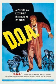 Mort à l'arrivée - D.O.A - Rudolph Maté(1950)