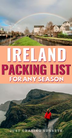 ireland travel The ultimate packing list for Ireland. Never wonder what to wear in Ireland. This Ireland packing list has you covered whether you travel to Ireland in the Summer, Spring, Winter, or Fall. Plus, get my tips for packing it all in a carry on! Ultimate Packing List, Packing Tips For Vacation, Travel Packing, Packing Lists, Travel Outfits, Goa Travel, Nightlife Travel, Paris Travel, Oregon