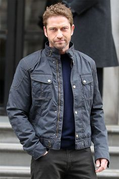 Gerry in a Matchless jacket, nice!