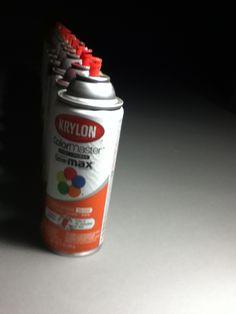 Depth of field spray paint
