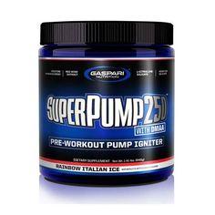 Gaspari Nutrition Super Pump 250 30 Servings