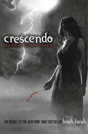 Crescendo By Becca Fitzpatrick Second Book To Hush,Hush   Despite starting a relationship with Patch, her guardian angel (whose title is the only angelic thing about him), and surviving an attempt on her life, things are not looking good for Nora Grey. Aside from fearing her boyfriend is interested in her nemesis, Nora is haunted by images of her father and becomes obsessed with understanding his disappearance. As Nora delves into the mystery of her father's death......