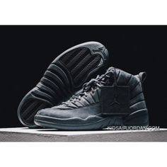 37490797e073fa 2017 New Psny X Air Jordan 12 Black-White-Max Orange 864349-001 Shoes Best
