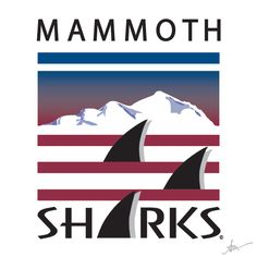 Mammoth Swim Team Logo by Kiss a Cow Studios