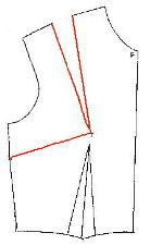 Drafting a pattern from a sloper - very useful