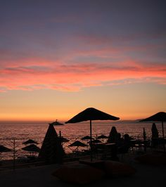 Gorgeous Sunset in Morocco  *** Morocco is a place of stark contrasts and incredible beauty! Lose yourself in the stunning landscapes of the Atlas Mountains, the barrenness of the Sahara Desert, or enjoy a cool seaside breeze ***