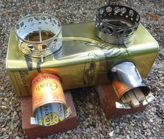double rocket stove/  What a ingenious application.  Well done.