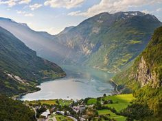 Norway, Western Fjords, Geiranger Fjord Travel Photographic Print - 61 x 46 cm Alesund, Stavanger, Bergen, Oslo, Norway Fjords, Wall Art Prints, Canvas Prints, Big Canvas, Canvas Paintings