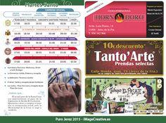 Diseño del Martes Santo para el itinerario de Semana Santa 2015 en Jerez de la Frontera.