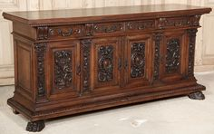 Italian Renaissance furniture ~ historic, heavy, classic