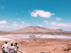 The saltmines of Sal! #CaboVerde #CaboVerde #Kaapverdie