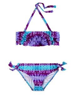 Shop Justice for girls' swimwear & bathing suits, all in a variety of colors & prints to match her style. Find everything from one-pieces to bikinis to tankinis. Cute Bikinis, Cute Swimsuits, Bikini Swimsuit, Tie Dye Outfits, Girl Outfits, Girls Sports Clothes, Kids Bathing Suits, Baby Girl Swimsuit, Bikinis