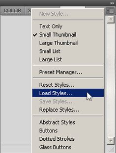 How To Install Photoshop Styles