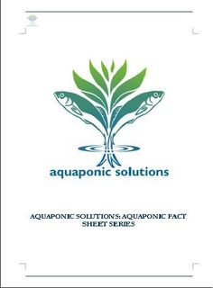 Aquaponic Solutions Fact Sheets