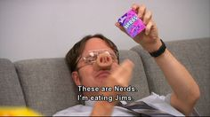 Dwight, master of the Insult Spell