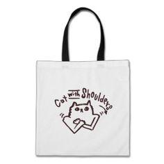 Cat With Shoulders Bag