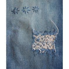 Sashiko / Boro Stitching & jeans repair workshop in Dordrecht sustainable fabrics and yarns