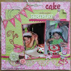 First Birthday Cake! - Scrapbook.com