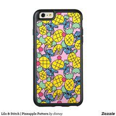 Lilo & Stitch | Pineapple Pattern OtterBox iPhone 6/6s Plus Case