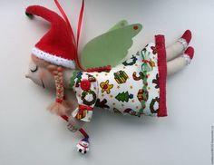 Fairy-Tale Dolls handmade. Livemaster - handmade. Buy Christmas.Angel, cotton 100%