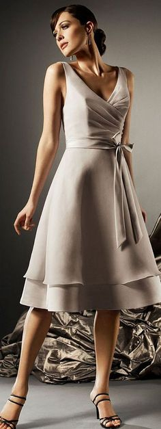 Satin Natural Sleeveless Zipper Deep V-neck Bridesmaid Dresses