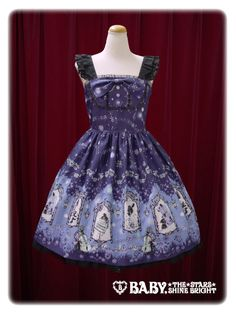 Alice and the Pirates L'ecrin de votre gauche~The song spinning in the world of the shadow picture jumper skirt Ⅰ