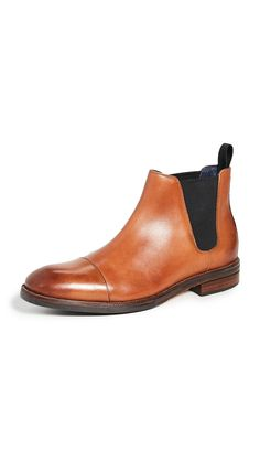 Cole Haan Men's Conway Waterproof Leather Cap-toe Chelsea Boots In Mesquite Leather Cap, Leather Boots, Cole Haan, Chelsea Boots, Mens Fashion, Shopping, Shoes, Moda Masculina, Leather Shoes