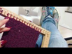 Passo a passo Tear Construção básica Alana Santos Blogger - YouTube