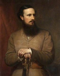 Brigadier General John Nicholson (1821–1857), 1867 by John Robert Dicksee (British 1817–1905)...... Nicholson was a charismatic and authoritarian figure, who created a legend for himself as a political officer under Henry Lawrence in the frontier provinces of the British Empire in India. He was instrumental in the settlement of the North-West Frontier and played a  part in the Indian Mutiny......