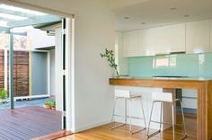 Bentleigh House - Contemporary - Kitchen - melbourne - by Simon Couchman Architects
