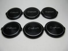 CANON FD FL 55mm Lens Caps