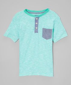 Love this Smith's American Green Pocket Henley - Boys by Smith's American on #zulily! #zulilyfinds