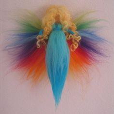 Frühling - Regenbogenfee - ein Designerstück von Mein-Avalon bei DaWanda