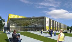 Amber shopping mall in Kalisz by Ultra Architects