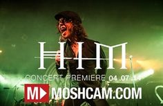 HIM live in Sydney - Live Music Concert Video - Metro Theatre, Sydney 2014 | Moshcam