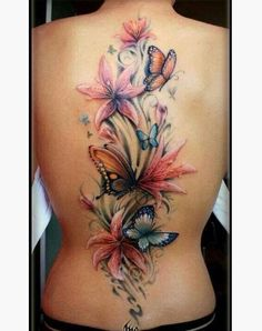 25 Watercolor Tattoos That Have An Artistry To Them