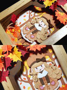 Paper Autumn Detail Shots by celesse on deviantART