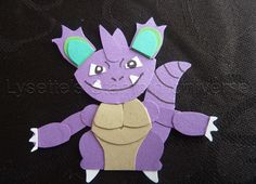 Gotta Craft Them All challenge dag 35: Nidoking https://www.facebook.com/Lysettes.stampin.universe/