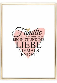 Family is where life begins, poster - Scandinavian Wall Art Family First Tattoo, Family Name Tattoos, Tattoos With Kids Names, Baby Feet Tattoos, Baby Name Tattoos, Cute Text, Poster Shop, Life Poster, Tattoo Familie