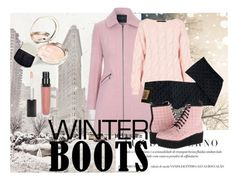 """""""Rose winter's day"""" by arinahenriquez ❤ liked on Polyvore featuring Jane Norman, AV by Adriana Voloshchuk, Dolce&Gabbana, C Label, By Terry and winterboots"""