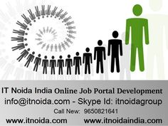 Job Portal Development by leading Job Portal Website Designing & Development Company, We are Expert in Job Portal Design & Development. IT Noida India have 8+ years of Experince in Job Portal Designing & Development Services India, USA, UK http://www.itnoidaindia.com/job-web-portal-development.php