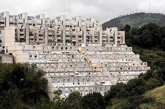 """1980-1989 GENOVA PEGLI _ COMPLESSO RESIDENZIALE PEGLI 3 ( Le Lavatrici )"""" (The Washing Machines) by architect ALDO LUIGI RIZZO"""