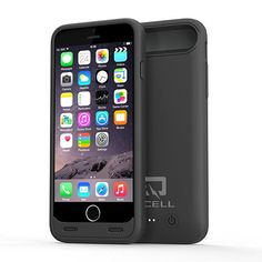 iPhone Plus Battery Case,QCell Slim Juicer Double Layer Extended Battery Charging Case for iPhone Plus,(Fits All mobile carriers of iPhone Plus)-Black Iphone 5s, Iphone 7 Plus, Iphone Cases, Best Battery Charger, Cell Phone Accessories, Slim, Black, Shopping, Black People