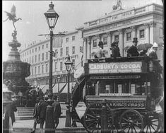 Piccadilly Circus, London, 1896