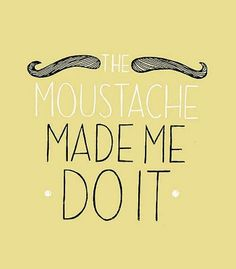 16 mustache diy crafts! Cant wait to try them out! =]