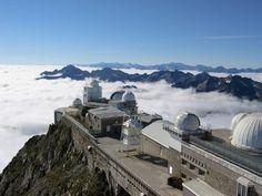 PIC DU MIDI OBSERVATORY  Futuristic observatory at the top of the Pyrénées offers unrivaled views