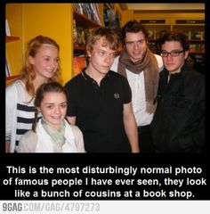 Like it. A lot. I don't know why ... but this made me laugh a lot ... GAME OF THRONES! The Stark Family!